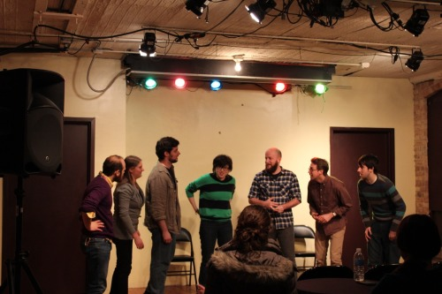 New Improv Performance Class taught by Kevin Mullaney, coming in March. 3 shows. Cost - $199.