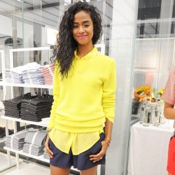 verosmemos:  vashtie:  backstage at @joefresh. photo by @bfa_nyc. #freshone #newyorkcity #mellowyellow  Love