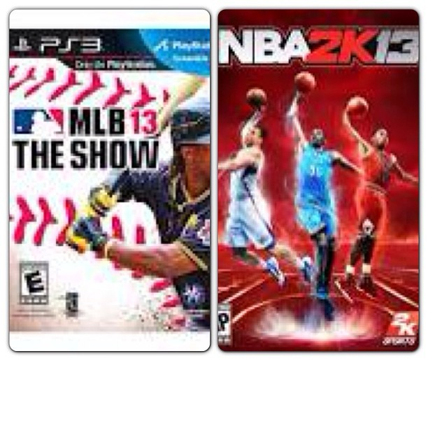 Which one should I play tonight?? #sports