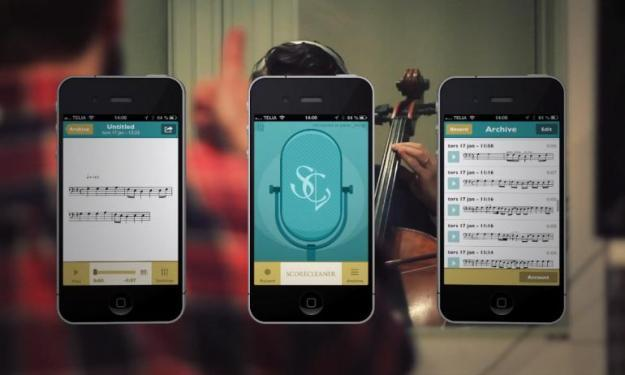 This is good: Hummed Tunes Instantly Transposed Onto Sheet Music - PSFK.  I clearly recall a recorder-like MIDI controller on display at Manny's in NYC  sometime around 1990 that you could hum into, and it would play the notes as if you were using the keys on a synth.  So while this is awesome, I'm still kind of shocked that the technology for applications like this isn't even more advanced by now.  But yes, this is awesome.