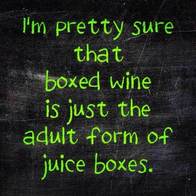 #justsayin #box #juice #wine #thirsty