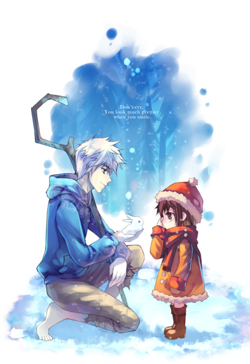 kitadashi:  Jack Frost: a bless from the winter by hizuki24