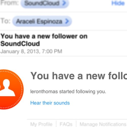 For real?! #leronthomas? Is #soundcloud full of #bots?