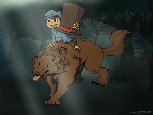 Have some Werewolf Professor Hershel Layton and Luke good-moment-boy-and-canine-time!!! Professor Layton's on the prowl…howl…to solve some puzzles and mysteries. Making fluffy Layton is fluffy and fuuunnn! xD It's on deviantart too. RE:EDIT: Hey guys! I'm thinking of opening up Prof. Layton blog. I need yeses!!! (needs it *tapping finger on the table*)
