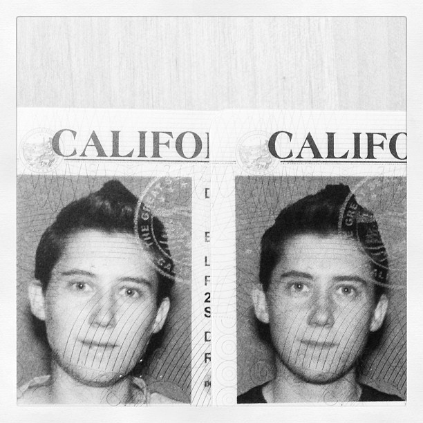CA Driver's License: old vs new.