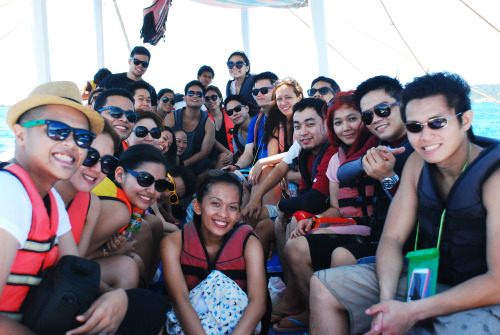 Medschool Friends in Boracay