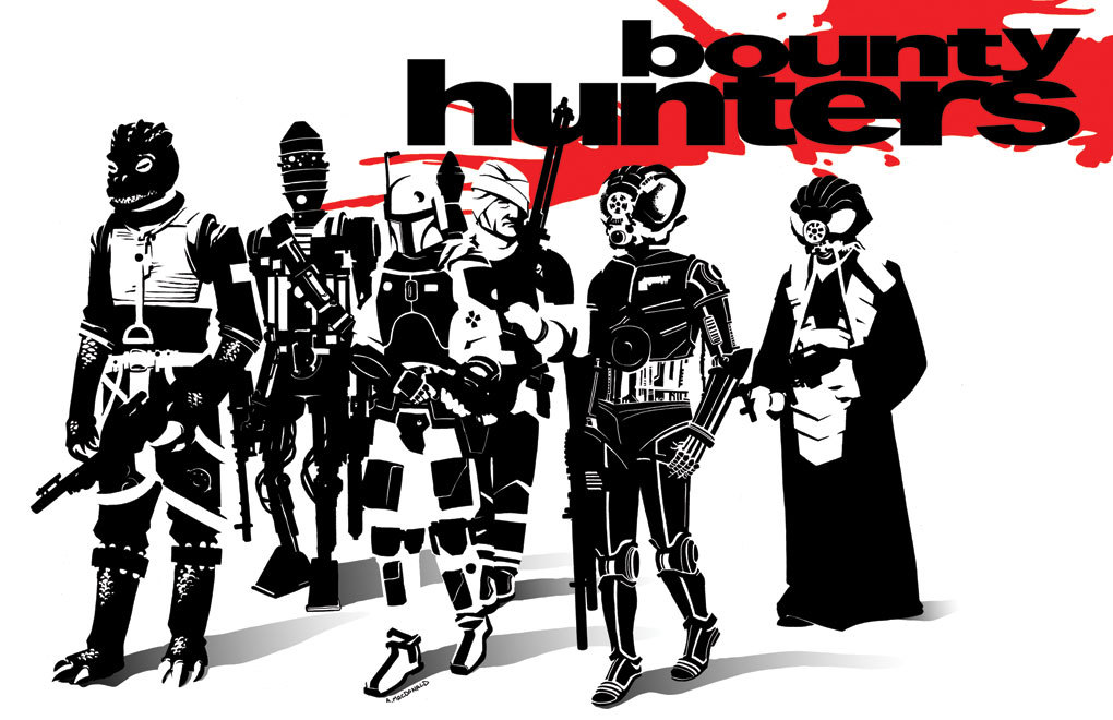 Reservoir Bounty Hunters by Andy MacDonald