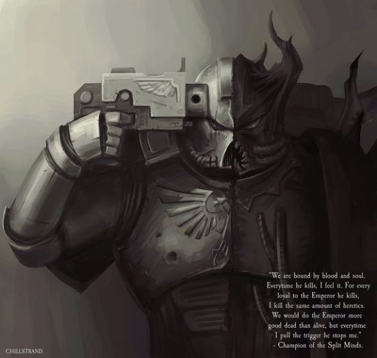 #warhammer 40k#warhammer#fantasy#art#sci fi#paint#illustration