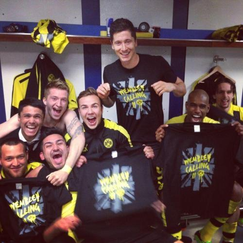 iheartmwm:  Borussia Dortmund to the Finals Omggg!