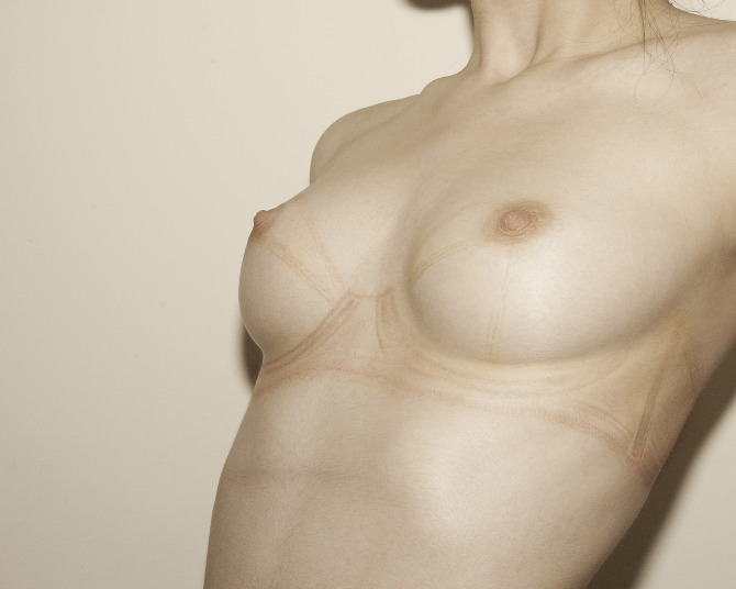 jonyorkblog:  Scout Paré-PhillipsImpressions (Self-Portrait Series), 2011