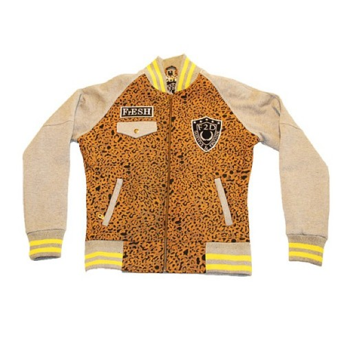 1 LEFT ONLINE NOW!! LADIES DENIM LEOPARD PRINT STADIUM JACKET. BE FAST www.store.fresh2defclothing.com #leopard #leopardprint #f2d #f2dclothing #fashion #style #streetwear #animalprint #varsity #dope #ladies #girls #outnow #swag #sale #fresh2def