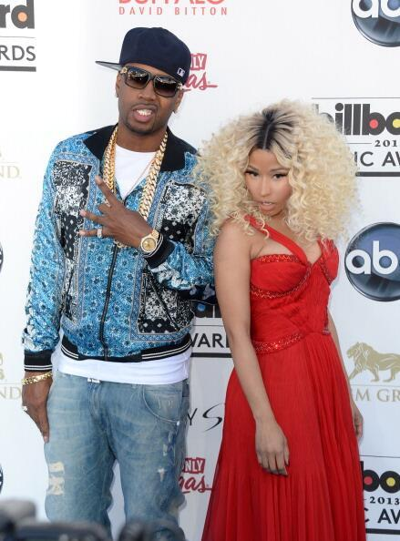 Nicki Minaj - Nicki Minaj and @SCAFFBEEZY Billboard Music Awards Blue Carpet