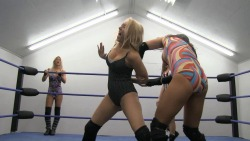 Amber O'Neal & Angel Williams vs Ivelisse & Rain www.slampegs.com