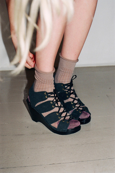 olivemylove:  Morghana Lurex Socks « No.6 Daily