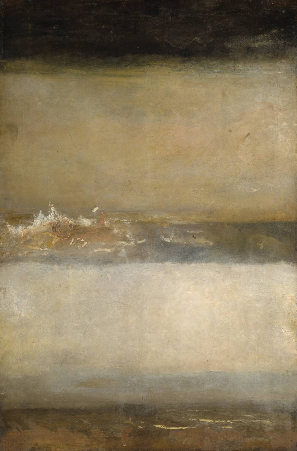 likeafieldmouse:  Joseph Mallord William Turner - Three Seascapes (1827)