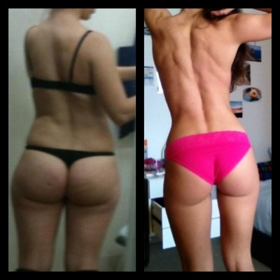 losingweightfeelsgreat:  fitgirlswagg:  kickintheass:  I think it is fair I share it with everyone who needs motivation even though it is so embarrasing for me. Keep going!  Omgggggg  I have hope!!!