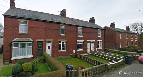 Terraced houses, Pilling, Lancashire