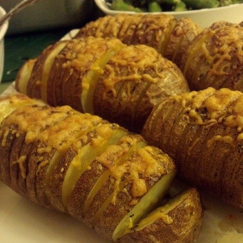 Hasselback Tatoes :)
