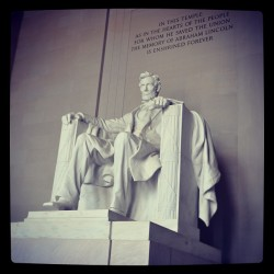 #Lincoln #memorial #dc #washington  #2011