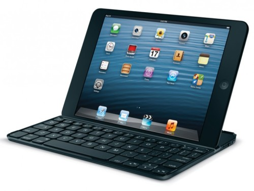 thenextweb:  (via Logitech launches the Ultrathin Keyboard mini, a lightweight cover and typing solution for the iPad mini - The Next Web)  Pretty sweet keyboard option for iPad owners.