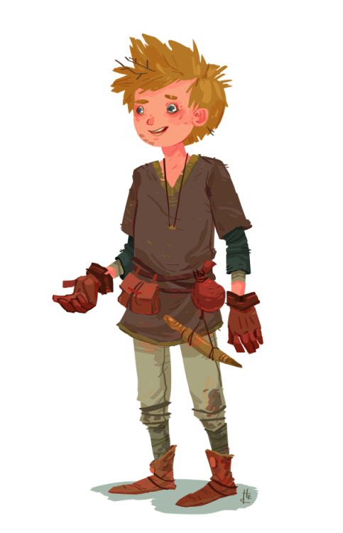 hannahchristenson:  This is a character concept illo for an upcoming project of mine. Hopefully I can show more soon!