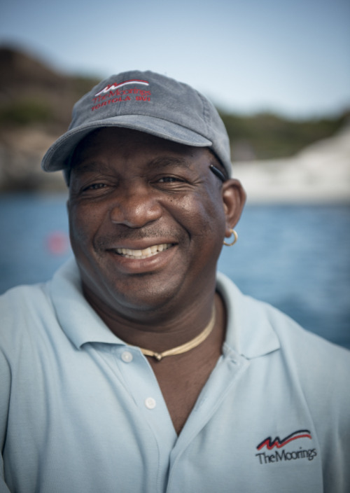 @BritishVirginIs A true pirate of the Caribbean, our legendary skipper for last week Dunbar.