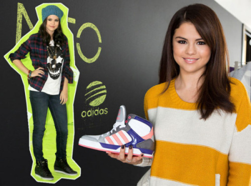 Another new picture of the photoshoot of Selena Gomez in November for Adidas Neo.
