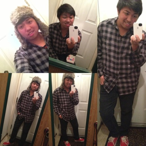 Being#conceited tonight #ootn #ootd #flannel #asian #asianboy #camerawhore #boy #guy I'm feeling #cute #cuteasiansshoutout #smile