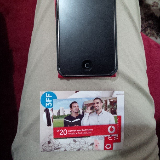 {19th of May '13} Bye bye Qtel and Hello Vodafone :D