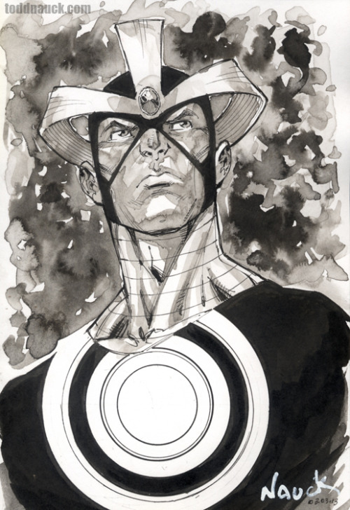 Havok.Pigma Micron markers and ink wash.