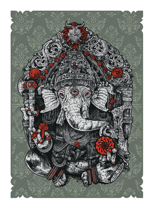 Ganesha, by Angry Blue. http://angryblue.com/