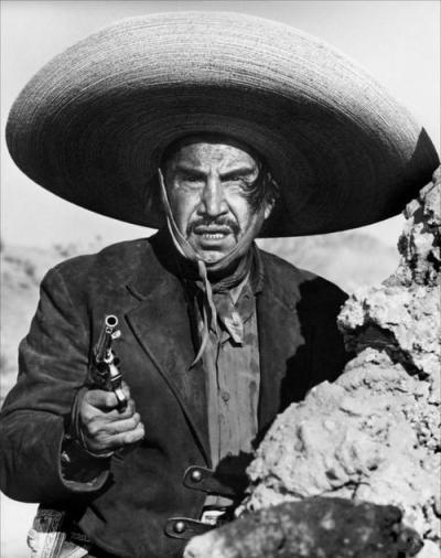 "ilianation:  Emilio ""El Indio"" Fernández  you know the Oscar's for movies?  this is the dude on the statue…."