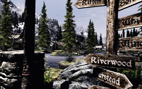 Towns And Villages Enhanced Skyrim