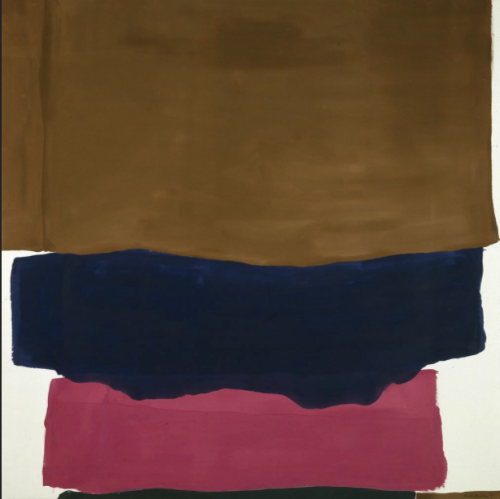 Indian summer, Helen Frankenthaler
