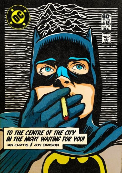 Batman X Joy Division