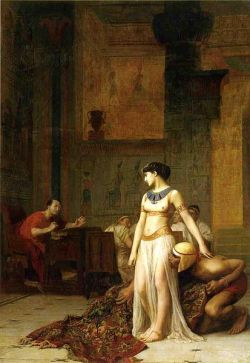Jean-Léon Gérôme - Cleopatra and Caesar 1866 Oil on Canvas