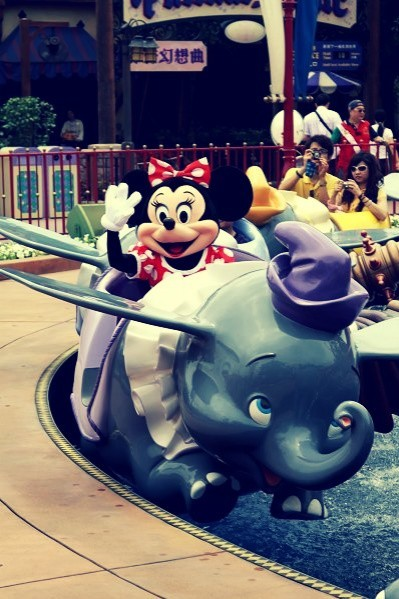 my favorite ride with my favorite mouse :)