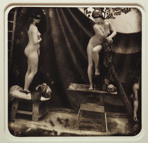inneroptics:  WITKIN  This reminds me so much of an Anaïs Nin story from Delta of Venus. Is it 'Artists and Models'? I think so.