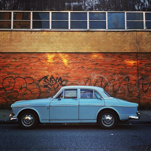 #soloparking #car #blue #vehicle #vintage
