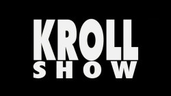 The rapid-fire main titles of KROLL SHOW roast famous logos, brands, and signage.