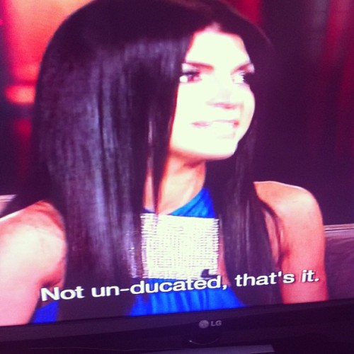 Teresa is so fucking stupid hahahaha 👏😂 #RHoNJ