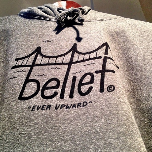 #JazzysCrush // love these hoodies from @beliefnyc