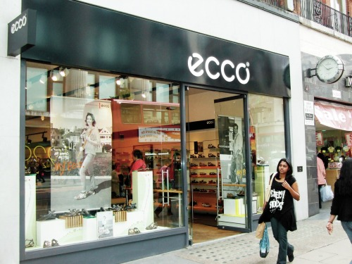 Throwback Thursday: In 1998 ECCO opened a flagship store on Oxford Street in the heart of London's premiere shopping district. The opening marked the transition from being a wholesaler to also being a retailer. Today ECCO products can be found in 4,000 branded sales locations in more than 90 countries.