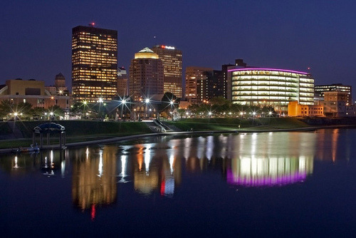 Dayton Skyline 080610 by Jim Crotty 11 on Flickr.My hometown. Dayton. First time in quite a while I won't be back for Christmas. Going to Texas this year.