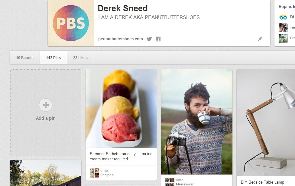 I might have mentioned this before, but I have a Pinterest. I like it. I might like it too much.