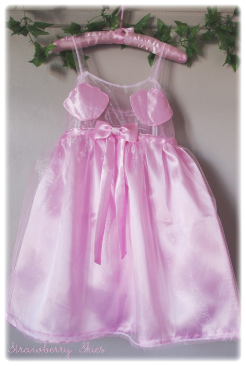 strawberryskies:  Just one Mermaid Doll dress left in PINK for the first round of orders! Next orders won't be until late June!!