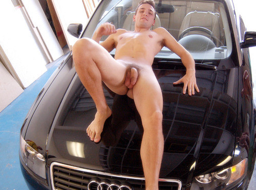 "A Nice Audi Accessory.   Hot Gay Pics: FOLLOW Tumblr site ""Beautiful Cocks""  and  VISIT Archive"