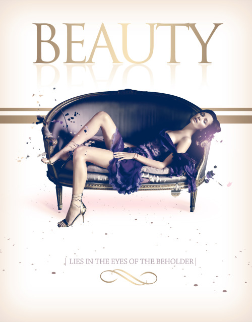 Design i did at work =D beauty lies in the eyes of the beholder