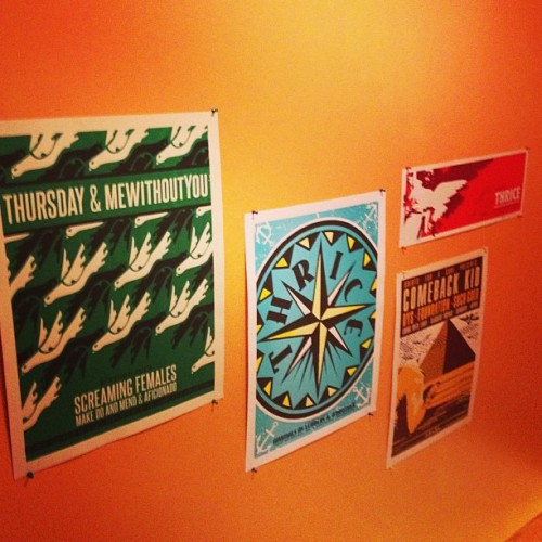 knotsandivy:  Band wall #thursday #thrice #comebackkid