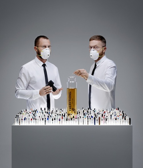 "A BIG Perfume: Amsterdam-based artist, Engelberts and Plug created their own scent, ""Everything"" – it is made up of every perfume created 2012, combined in a massive bottle. Wish we had smell-o-vision for this. No word on what it smells like though. MUST HAVE BEEN WATER: We love Budweiser's response to people saying its beer has been watered down.  Tattoo Artist Wanted: To find a new tattoo artist, Berrge Tattoo put out a call artists using a QR code – but, that's not why this is cool. It's cool because you have to precisely fill in the QR code to make it work, you know, showing off your tattooing technique. If you filled it in with the utmost care, you could scan the QR code and get the official application form. — Lauren M"